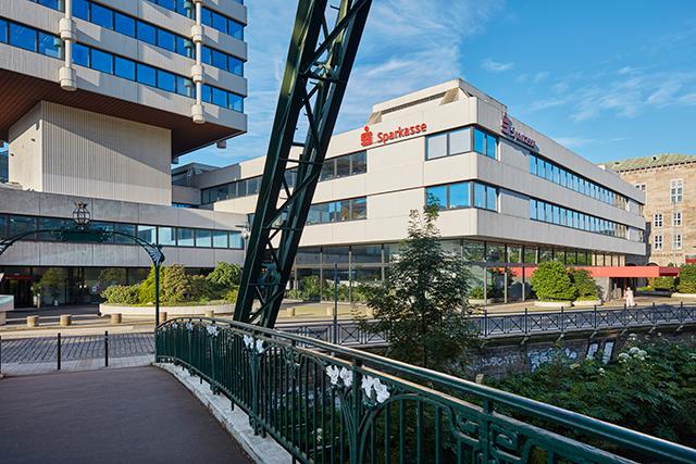 Sparkasse Wuppertal Filial-Standort Islandufer Außenansicht