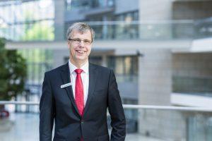 Wolfgang Jarisch. der neue Regionalleiter Barmen der Sparkasse Wuppertal