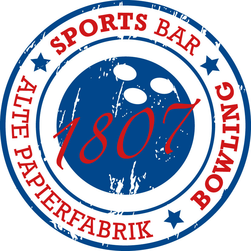 Logo Sportsbar Bowling Alte Papierfabrik